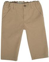 Bonpoint Decibel Cotton Twill Straight-Leg Trousers, Beige, Size 6M-2