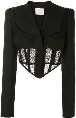 Dion Lee Tailored Corset Jacket