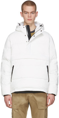 The Very Warm Off-White Anorak Puffer Jacket