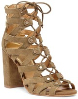Sole Society Karli lace-up heeled sandal