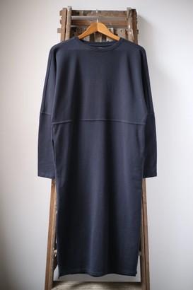 Humanoid Baily Midnight Oversized Sweatshirt Dress - M
