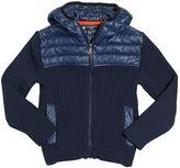 North Sails Nylon & Cotton Blend Knit Jacket
