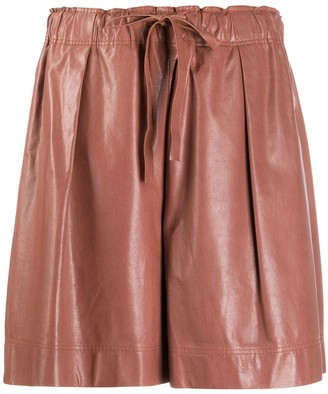 Brunello Cucinelli High Waisted Shorts