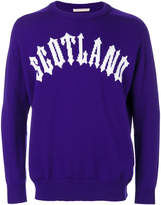 Christopher Kane Scotland knit jumper