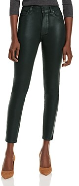 Paige Hoxton Ankle Jeans in Wild Clover Luxe Coating - 100% Exclusive