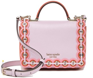 Kate Spade Leather Patterson Drive Grommet Maisie Crossbody Bag