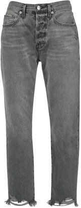 Frame Le Original High Waist Crop Denim Jeans
