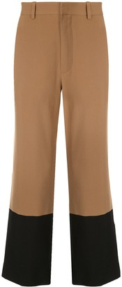 Ports V Colour Block Tailored Trousers