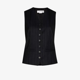 Victoria Beckham Pinstripe wool waistcoat