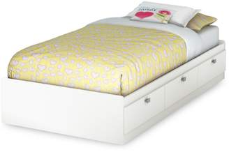 South Shore Spark Twin Mates Bed with Three Drawers