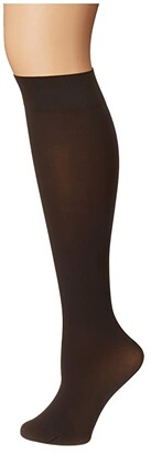 Falke Pure Matte 50 Knee High (Anthracite) Hose