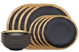 Godinger Golden Onyx Dinnerware Collection