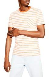 Topman Towel Pocket Stripe Tee