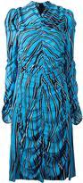 Marni Trellis print midi dress - women - Viscose/Silk - 38