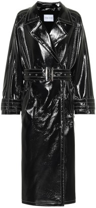 Stand Studio Shelby faux leather trench coat
