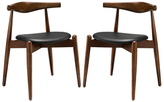 Modway Stalwart Side Dining Chairs (Set of 2)