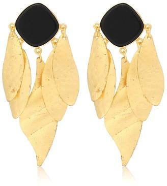 PEET DULLAERT Indra 14kt gold-plated earrings