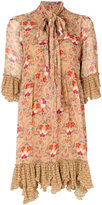 See by Chloe bow tie floral dress