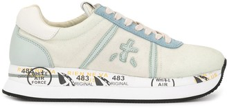 Premiata Low Top Print Sneakers