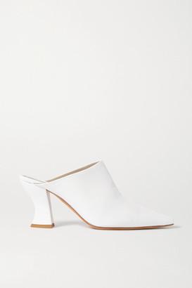 Bottega Veneta Leather Mules - White