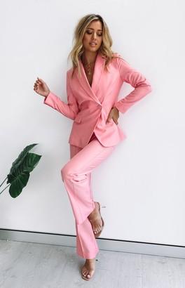 Beginning Boutique Tru Blazer Pink