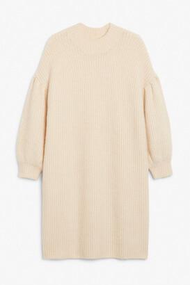 Monki Knit midi dress