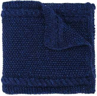 0711 Lyudmila chunky knit scarf