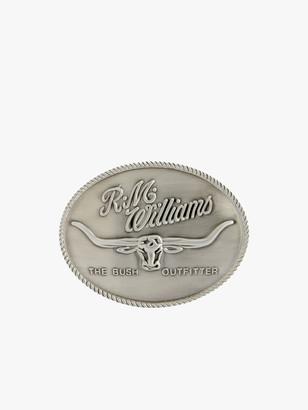 R.M. Williams R.M.Williams Logo Buckle