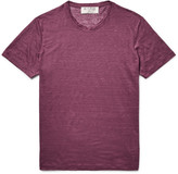 Etro - Slim-fit Slub Linen-jersey T-shirt