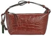 Ganni Embossed leather bag