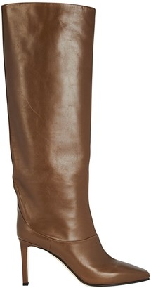 Jimmy Choo Mahesa 85 Knee-High Boots