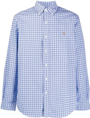 Polo Ralph Lauren Check Print Logo Shirt