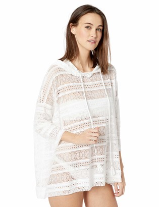 Beach House Women's Textured Hoodie Swimsuit Cover up