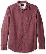 Obey Men's Harrington Regular Fit Woven Long Sleeve
