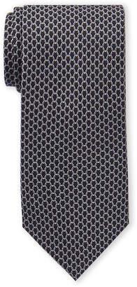 Michael Kors Charcoal Linked Silk Tie