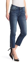 KUT from the Kloth Katy Raw Ankle Crop Straight Jeans