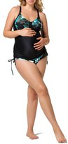 Women's Cake 'Soda' Maternity/nursing Tankini Top & Brief Bikini Bottoms