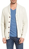Tommy Bahama Men's Coastal Cable Shawl Collar Button Cardigan