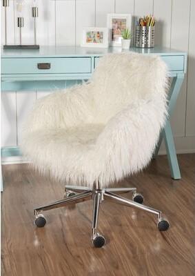 Mack & MiloTM Gottwald Task Chair Mack & Milo Upholstery Color: Off White