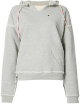 L'Equip inverted seam hoodie - women - Cotton - M