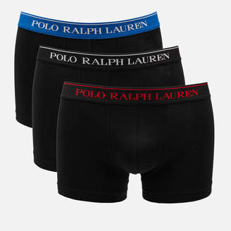 Polo Ralph Lauren Men's 3 Pack Classic Trunk Boxer Shorts
