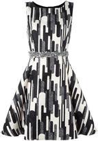 Blugirl printed mini dress