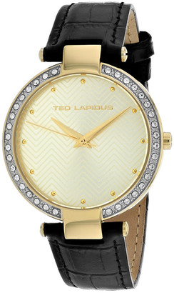 Ted Lapidus Women's Crystal Watch