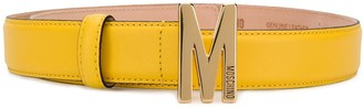 Moschino Logo Lettering Belt