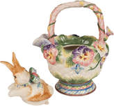 Fitz & Floyd Halcyon Rabbit Teapot