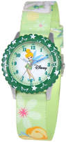 Disney Watch, Kid's Tinker Bell Time Teacher Printed Nylon Strap 31mm W000069