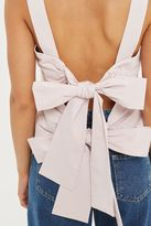 Topshop Tie Back Camisole Top