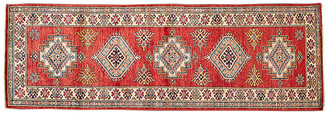 """2'8""""x8'1"""" Buhle Hand-Knotted Runner - Red - Apadana Fine Rugs - red/multi"""