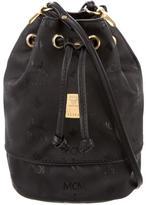 MCM Mini Heritage Drawstring Bucket Bag