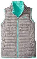The North Face Kids - Reversible Mossbud Swirl Vest Girl's Vest